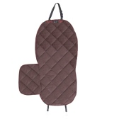 Luxury Water Resistant Non-Skid Pet Seat Cover Dog Cat Puppy Safety Single Seater Protector Quilted Mat for Cars SUV