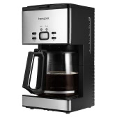 Homgeek High-end 1.8L Coffee Maker 15 Cups Programmable Coffeemaker Coffee Machine with Carafe & Coffee Measuring Scoop