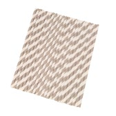 100pcs/set 2 Color Stripe Pattern Food Grade Paper Straws for Birthday Wedding Baby Shower Celebration and Party