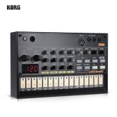 KORG VOLCA BEATS Portable Analog Rhythm Machine Sequencer Synthesizer with MIDI In 3.5mm Sync In/ Out Headphone Jacks