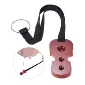 Hardwood Cello Endpin Non-slip Stop Holder Rest Anchor Protector Pad Cello Shape Rosewood Color