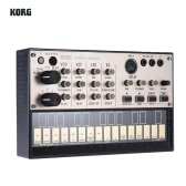 KORG VOLCA KEYS Portable Analog Synthesizer Synth Built-in Delay Effect Loop Sequencer with MIDI In 3.5mm Sync In/ Out Headphone Jacks