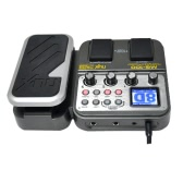 NUX MG-100 Modeling Guitar Processor Guitar Effect Pedal Drum Tuner Recorder 58 Effect 72 Preset Multi-function
