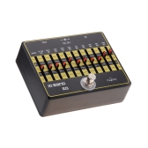 Caline CP-24 10-Band EQ Equalizer Guitar Effect Pedal Aluminium Alloy True Bypass