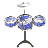 Set of Small Jazz Drum Playset Percussion Musical Instrument Intelligence Educational Toy for Boy Girl Kids Baby Children Gift