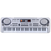 """21"""" 61 Keys LED Electronic Keyboard Music Toy with Microphone Educational Electone Christmas Gift for Children Kids"""