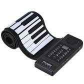 Portable Silicon 61 Keys Roll Up Piano Electronic MIDI Keyboard with Built-in Loud Speaker