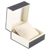 Excellent Large Single Watch Box Storage Case Bracelet Jewelry Travel Gift Box with Soft Pillow