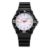 SKMEI Fashion Water-resistant Quartz Children Watch Analog Jelly Student Boy Girl Wristwatch