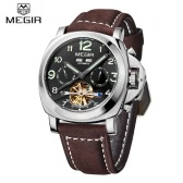 MEGIR Luminous Self-winding Mechanical Watch 3 ATM Water Resistant
