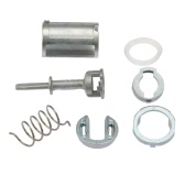 Door Lock Cylinder Repair Kit Front Left Right Replacement Parts for VW MK4 GOLF BORA
