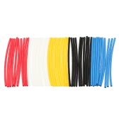 180Pcs Polyolefin Color Heat Shrink Tubing 2:1 Shrink Ratio Tube Sleeving Wrap Wire Cable Kit