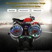Motorcycle Backlight Odometer Digital Speedometer Tachometer Gauge for Suzuki GS125/QS125 Series