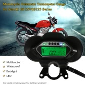 LCD Digital Backlight Motorcycle Odometer Speedometer Tachometer Gauge for Suzuki QS125/GS125