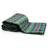 Folding Moistureproof Outdoor Picnic Mat Beach Camping Travel Plaid Blanket Rug PVC Backing