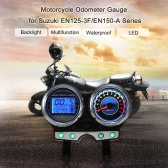 Motorcycle LCD Digital Odometer Tachometer Gauge for Suzuki EN125-3F/EN150-A
