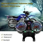 Motorcycle Backlight Odometer Digital Speedometer Tachometer Gauge for Honda WY125 Series