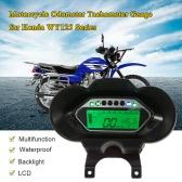 LCD Digital Backlight Motorcycle Odometer Speedometer Tachometer Gauge  for Honda WY125 Series