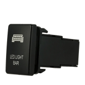 On-off Push Switch for Toyota Fog Light with LED Light Bar Symbol
