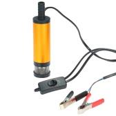 Oil Diesel Fuel Water Pump 12V Transfer Pump for Car Caravan Marine Boat