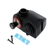 Dual USB Car Cigarette Lighter Charger Power Adapter + Socket 12V Plug 1A/2.1A