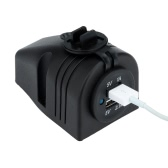 Kkmoon Dual USB Car Cigarette Lighter Charger Power Adapter 1A/2.1A 2 Ports 12V 24V