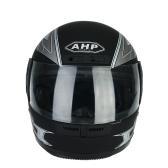 Cool Full Face Motorcycle Helmet Flip Up Racing Style Safety Helmet Men Women Universal Motorbike Protection Helmet with Detachable Neck Warmers