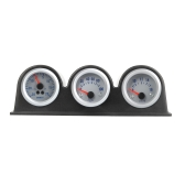 "Triple Three Auto Car Gauge Meter Pod Holder Cup Mount 2"" 52mm"