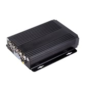 Mini CCTV 4CH Realtime SD Card Mobile Bus Car Vehicle DVR Recorder System