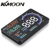 "KKMOON 5.5"" Large Screen Auto Car HUD Head Up Display KM/h & MPH Speeding Warning Windshield Project System with OBD2 Interface Plug & Play"