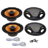 "Pair of High Performance 6.5"" Coaxial Car Loud Audio Speaker Tweeter Perfect Music Sound Loudspeaker for Car"