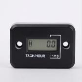 LCD Digital Tach/Hour Meter Gauge for 2 Stroke Gas Engine Motorcycle ATV