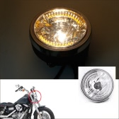 "8"" Halo Motorcycle Headlight LED Turn Signal with H4 Bulb for Harley"