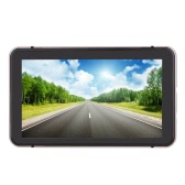 "7"" HD Touch Screen Portable Car GPS Navigation 128MB RAM 4GB FM Video Play Champagne Gold Car Navigator +Free Map"