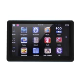 """7"""" HD Touch Screen Multi-function Portable Car GPS Navigation 128MB RAM 4GB FM Video Play Car Navigator with Bluetooth +Free Map"""