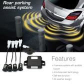 Steelmate PD400 4 Sensors Parking Assist System Car Parking Sensor Reverse Radar Alert System
