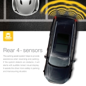 Steelmate PD800 8 Sensors Parking Assist System Car Parking Sensor Reverse Radar Alert System