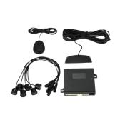 Steelmate D61 6 Sensors Parking Assist System Car Parking Sensor Reverse Radar Alert System with LED Display