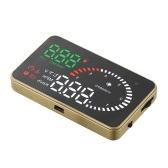 Universal Car HUD Head Up Display KM/h & MPH Speeding Warning
