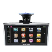 "KKMOON 7"" HD Touch Screen Portable GPS Navigator 128MB RAM 4GB ROM FM MP3 Video Play Car Entertainment System with Back Support +Free Map"