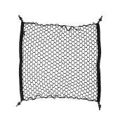 70 * 70cm Car Trunk Interior Mesh Net Storage Bag Luggage Holder 4 Hooks