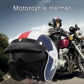 Motorcycle Helmet with Goggles Visor Cycling Riding Protect Helmet Unisex M