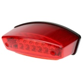 12V 21 LEDs Universal Motorcycle E-Bike 3 in 1 Rear Tail Brake Stop Running Light License Plate Lamp