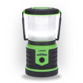 LIXADA 5W 400LM Rechargeable Ultra Bright Camping Lantern 6000mAh Mobile Power Bank 6 Lighting Modes White Red Strobe Emergency Water-resistant 360 Degree Illumination Light Portable Tent Light Basements Garages Camping Hiking Indoor Outdoor Activities Use