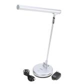 LIXADA Rotatable Foldable Flexible 6W LED Desk Light Lamp with Adjustable Brightness UK Plug