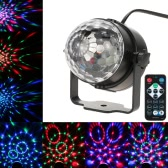 3W RGB Remote Control Mini LED Magic Ball Lamp Stage Effect Light for Disco KTV Club Bar Home Party