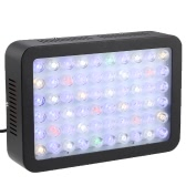300W 60 LEDs Aquarium Light Dimmable Full Spectrum for Reef Fish Coral Tank Freshwater Saltwater Lighting Blue and White