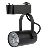 3W LED Track Rail Light Spotlight Adjustable for Mall Exhibition Office Use AC85-  265V