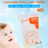Karibu 10pcs Disposable Potty Liners Refills