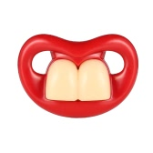 Funny Buckteeth Pacifier Silicone Pacifier BPA Free for Baby Infant Newborn